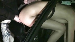 Cute girl Kitty Jane PUBLIC sex gangbang blowjobs with random strangers with big dicks Preview Image