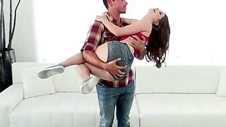 Cute teen Alice March gets banged by a very large_dick Preview Image