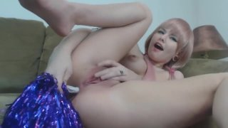 Fucking My Cheerleader Ass With PomPoms! FULL_VIDEO Preview Image