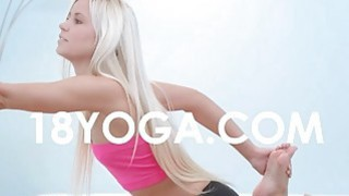 Pervert BF Photos Nude Teen In Yoga Preview Image