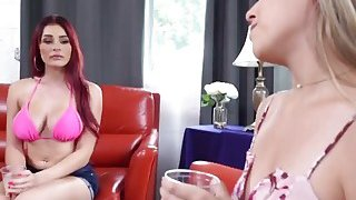 Kimber And Skyla_Sharing Long Schlong In Threesome Preview Image