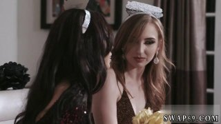 Cute teen strip dance New Year New Swap Preview Image