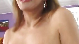 Big tit brunette mature_slut rubs her pussy and gets fucked by horny lover Preview Image