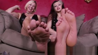 Goddess Brianna and friend soles Preview Image