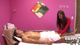 Aron Matthews really enjoys the massage performed by Kim Kong Preview Image