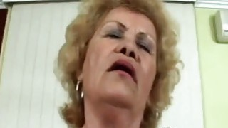 60 year old granny gets down and dirty as she shows all her skills with cock Preview Image
