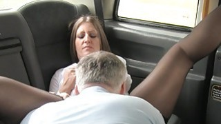 Blonde sucks big_cock till mouthful in fake taxi Preview Image