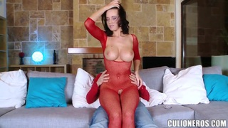Horny_Cindy_Dollar_in_red_fishnets_plays_with_big_cock Preview Image