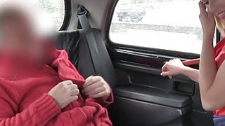 Blonde beauty pussy fisted in fake taxi Preview Image