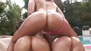 Big oiled asses fucked in group sex action Preview Image