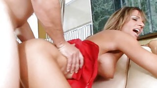 Mama moans with joy getting fingered and pounded Preview Image