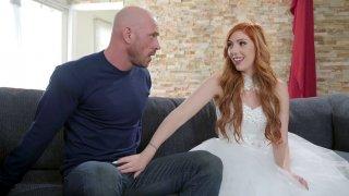 Bride Lauren Phillips is sucking Johnny Sins' cock Preview Image
