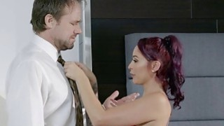Bored wife Monique Alexander fucks her massage client Preview Image