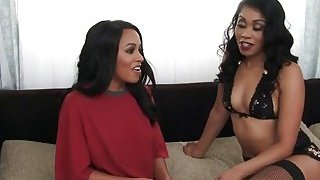 Busty lesbian ebonies in_steaming_hot action Preview Image