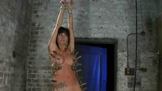 Hogtied Isis Love and Gia DiMarco Bondage Action Preview Image