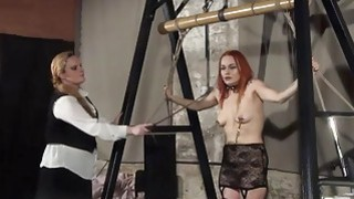 Lesbian play piercing_punishment and extreme amate Preview Image