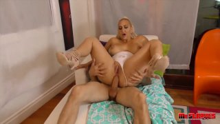 Blonde PAWG pornstar craves_for hardcore ass fucking with stud Preview Image