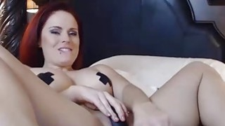 OMBFUN.com BIG SQUIRT @ 6-15 Titty Brunette Huge Cum Orgasm OhMiBod Vibrator Preview Image