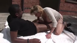 TROPHY WIFE AND BLACK TOSSER WITH ERECTION PROBLEMS Preview Image