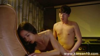 Korean gal fucked doggy_style and eagerly awaits big load Preview Image