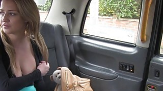 Huge tits British blonde anal banged in fake taxi hardcore euro Preview Image