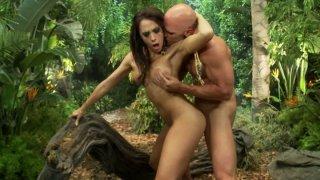 Jungle sex adventures with seductive Rachel Starr Preview Image