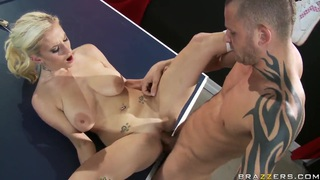 Latest nailed ~ Haley cummings and scott nails fucking at the ping pong table Preview Image