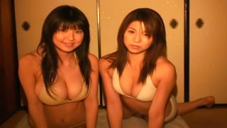 Miri Hanai and her friend are having fun on a girly party Preview Image