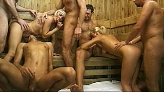 Peeing Orgy & Facial Cumshots Preview Image