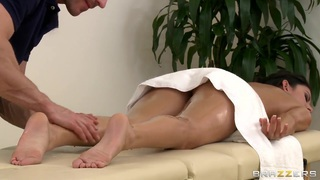 Massage time with Johnny Sins and Nikki Daniels Preview Image