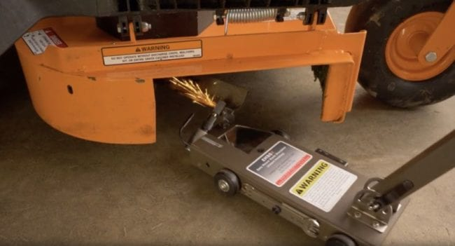 Lawn Mower Blade Sharpening Easy Do It Yourself Guide Ptr