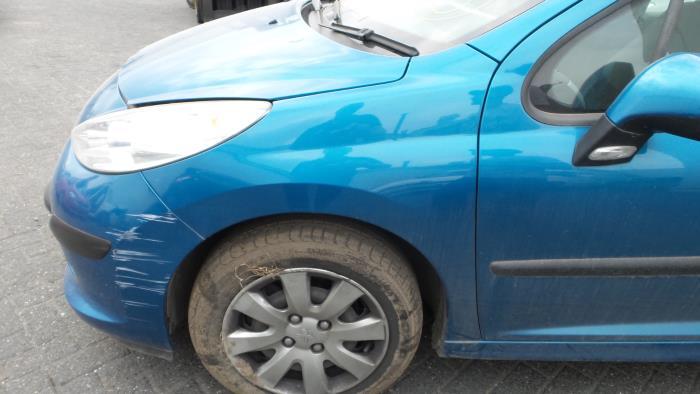 Usage Peugeot 207 Aile Avant Gauche Code Couleur Kmu Bzj Bv Proxyparts Fr