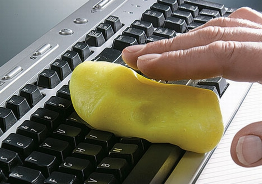 Special Slime Will Clean Your Dirty Keyboard