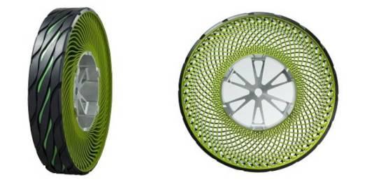 Bridgestone's Environmentally-Friendly Airless Tires