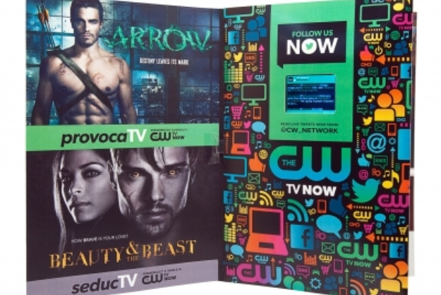 Print Ad For The CW To Feature Tiny Screen With Live Twitter Feed