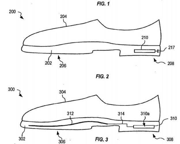 Apple Patents Smart Shoes That Tell Wearers When It's Time To Get New Ones