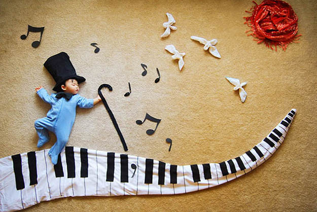 Creative Props Turn A Baby's Naps Into Imaginative Wonderlands [Pics]