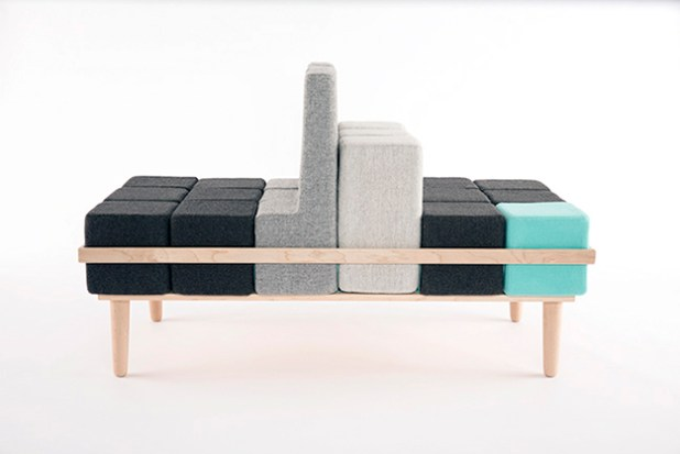 Modular Sofa Transforms Into Diffe Seats Like A Rubiks Cube