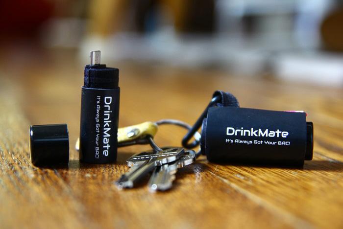Tiny Breathalyzer Plugs into Your Phone