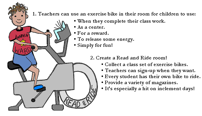 Ways to Incorporate Read and Ride Program Into School