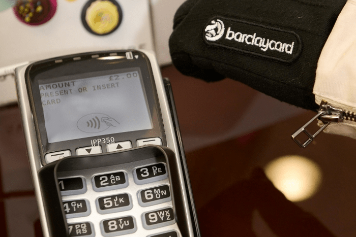 Barclaycard Contactless Gloves
