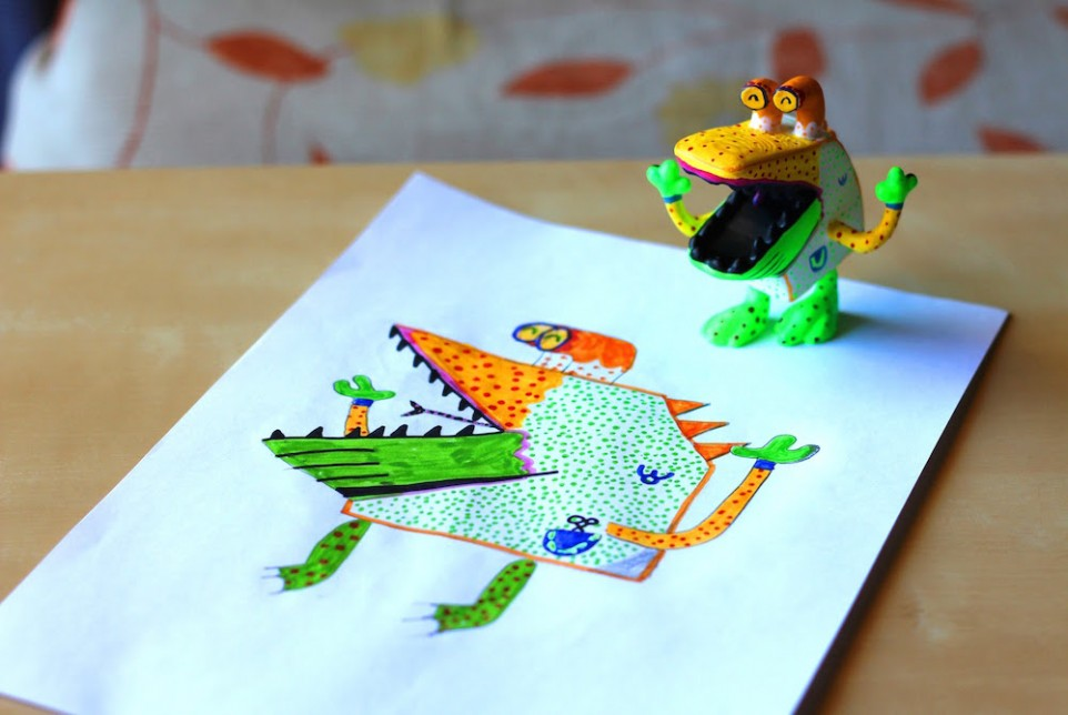 3D Printing Brings Imaginative Children's Drawings to Their Playrooms