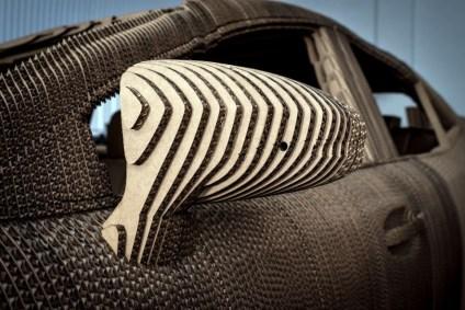 Origamı Sanatıyla Araba