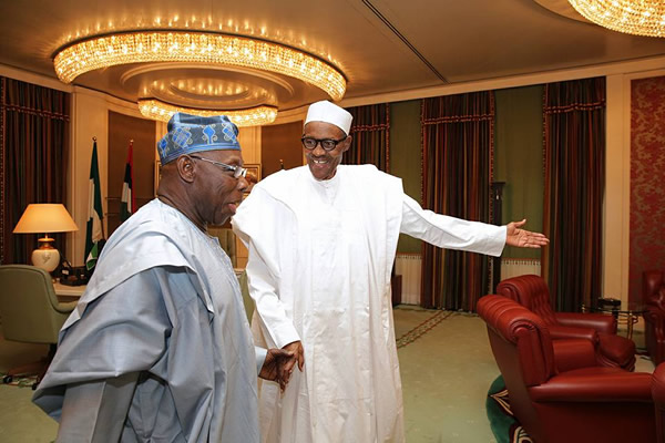 Image result for Till I die, Buhari will continue to address me as 'Sir' – Obasanjo