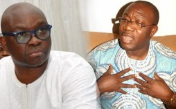 Image result for Fayemi and Fayose