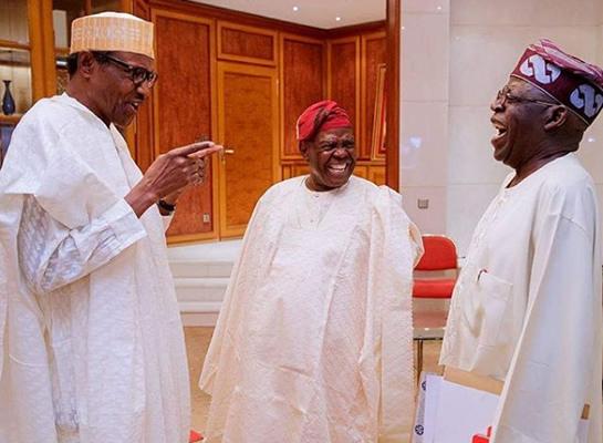 Image result for Ignore Obasanjo - Tinubu tells Buhari