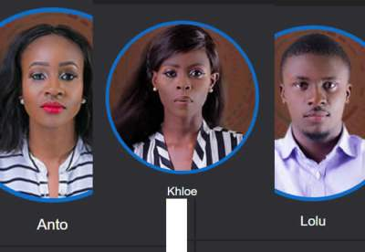 Image result for Anto, Khloe, Lolu leave BBNaija in final eviction show