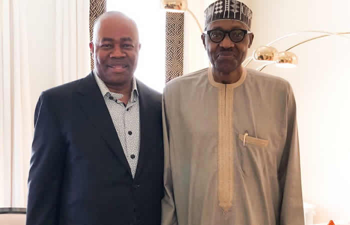 Image result for I joined APC when I realized that President Buhari Is A Man of integrity – Senator Godswill Akpabio