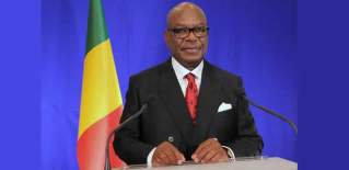 Image result for 73-year-old Keïta re-elected as Malian president