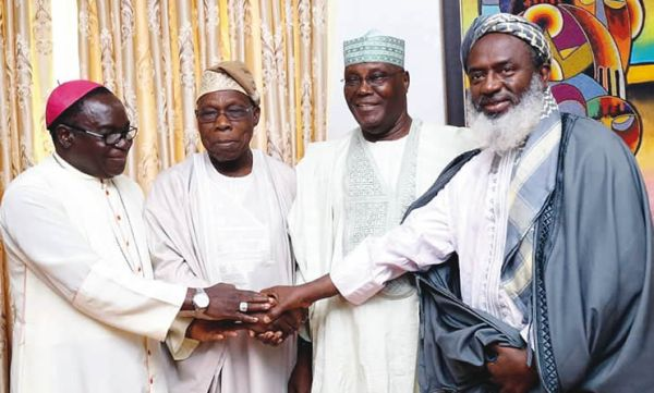 2019: Mixed reactions as Obasanjo endorses Atiku – Punch ...